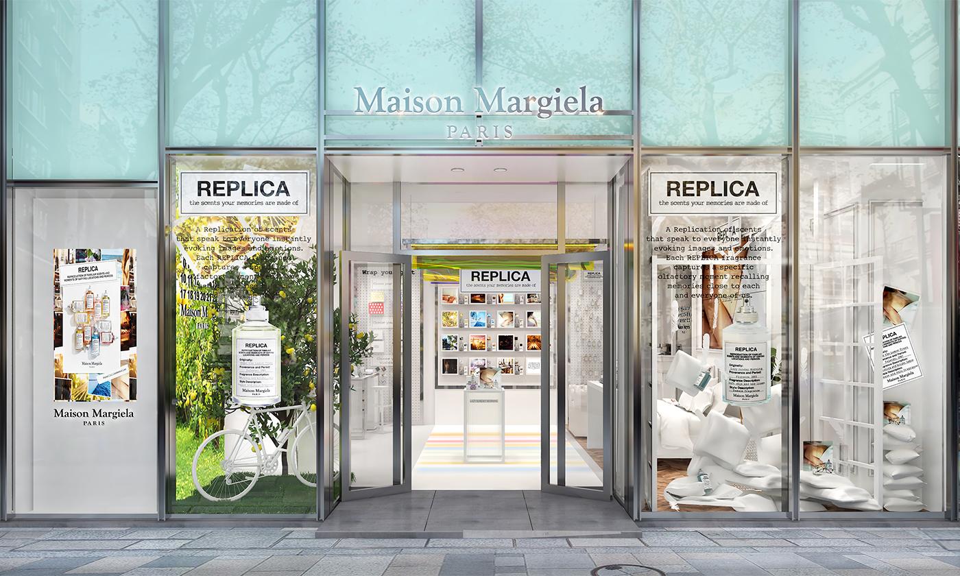 日本初! マルジェラ「レプリカ」フレグランスのポップアップストアが2021年4月22日~12月31日まで期間限定で登場 !