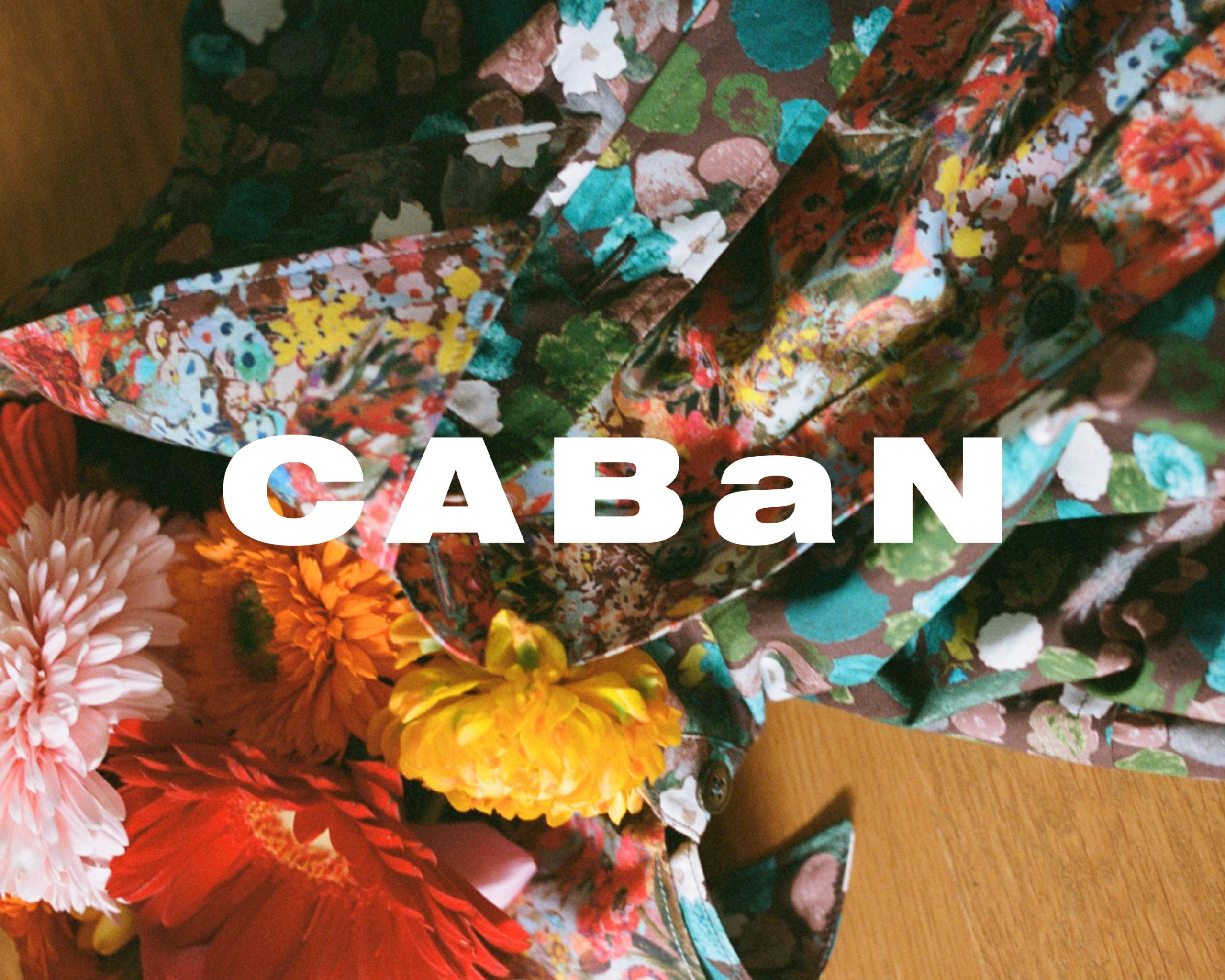 """キャバン阪急うめだ本店での """"FASHION WEEK""""イベントに合わせ、新作の春夏コレクションを展開。"""