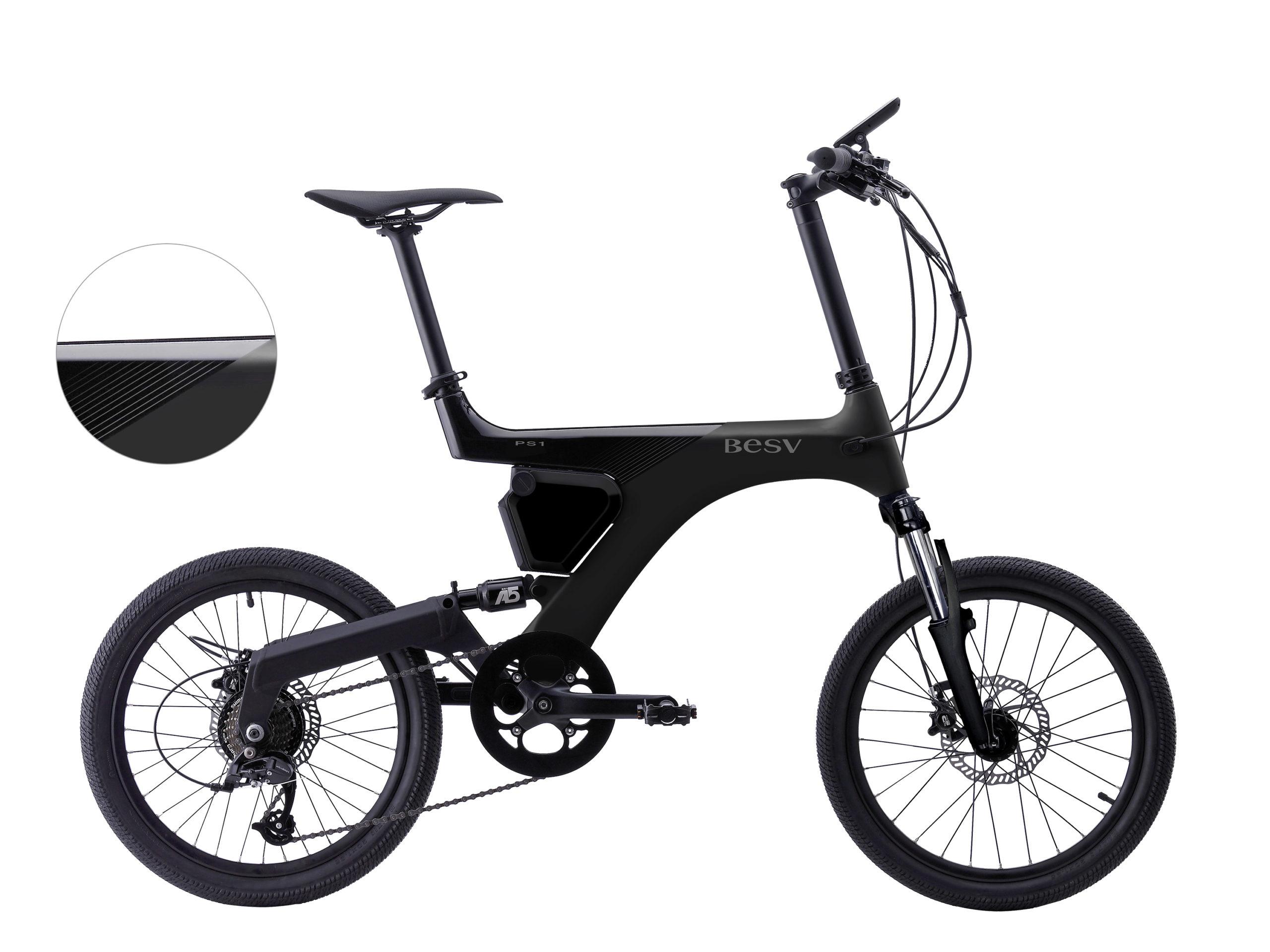 次世代プレミアムe-Bike「BESV」より人気のPSシリーズにマットブラック登場!