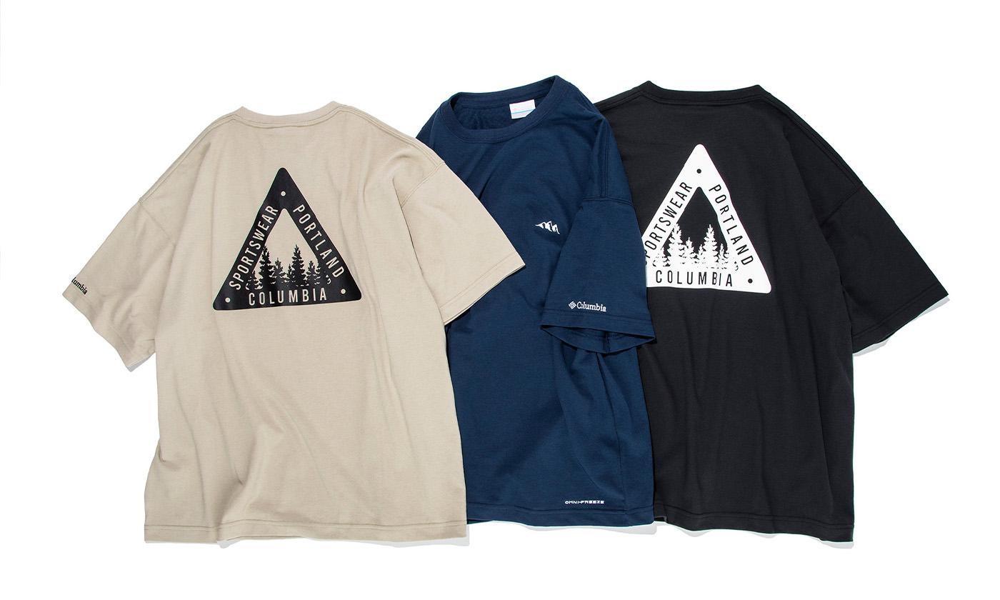 Columbia × SHIPSがコラボ!アウトドアとストリートスタイルを融合したTシャツ