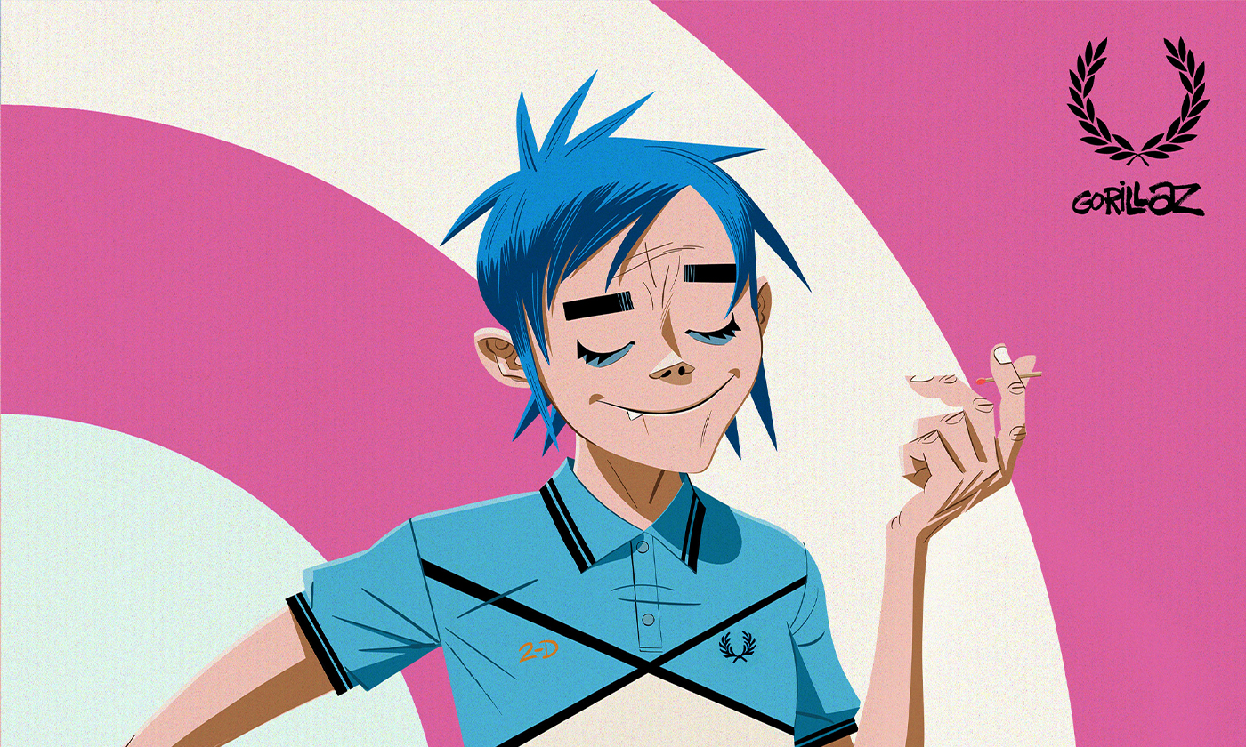 Fred Perry × Gorillaz コラボアイテム発表