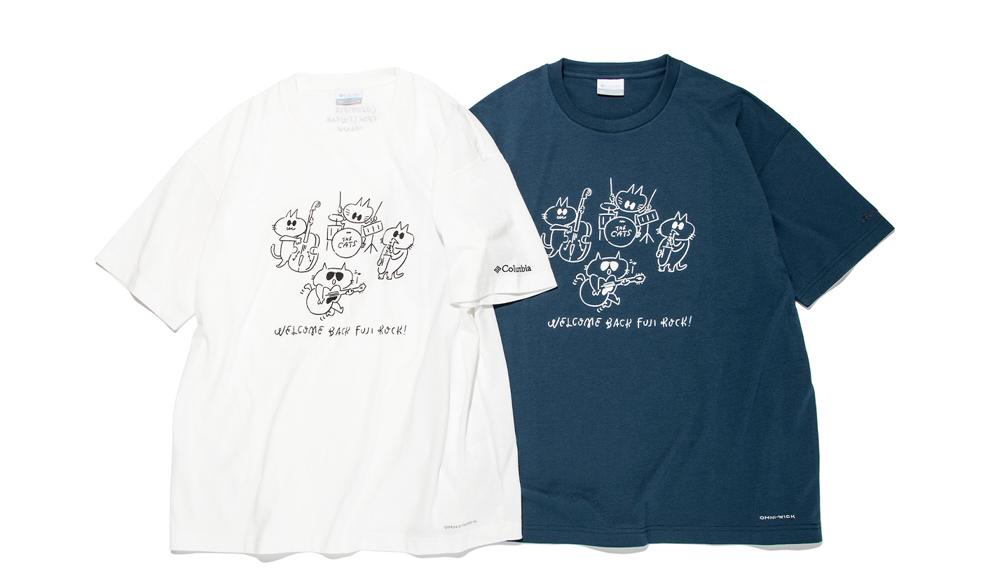 FUJI ROCK FESTIVAL'21 × Columbia コラボTシャツ 6月18日(金) 発売