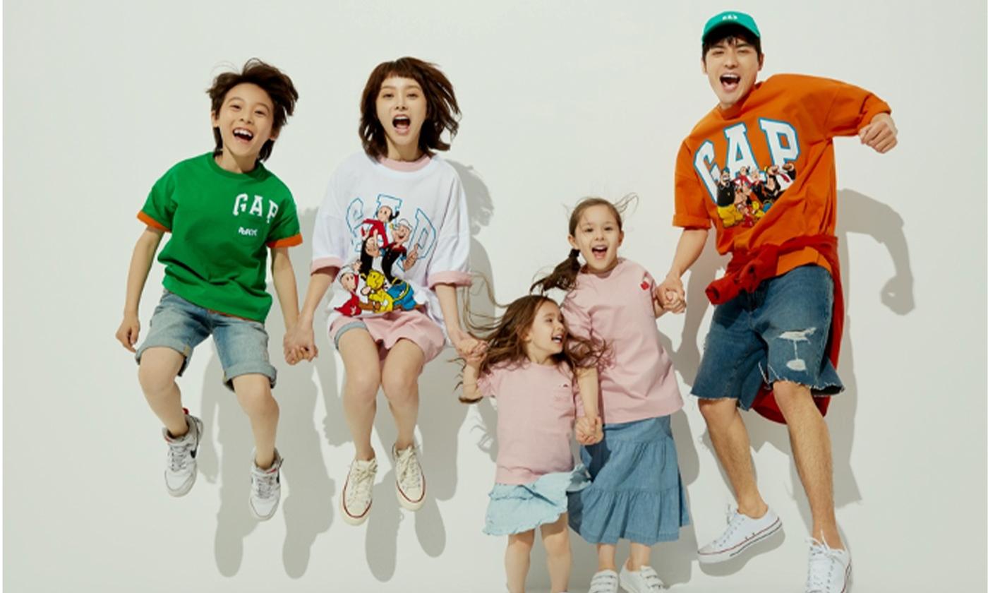 GapとPOPEYE™が限定コラボTシャツ発売