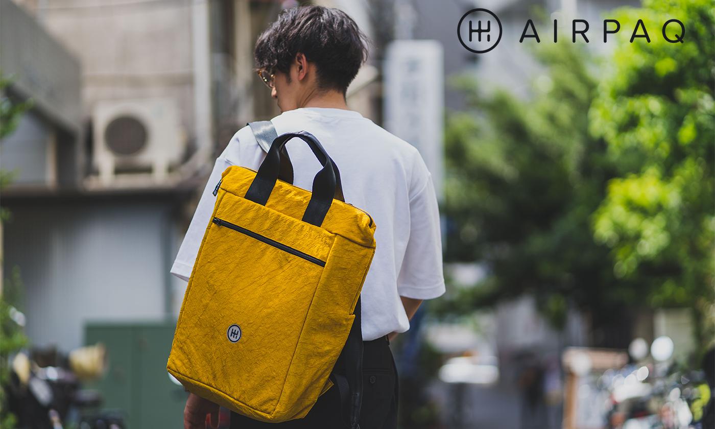 AIRPAQから日本未発売 タウンユース向け2way仕様のNewアイテムがリリース!
