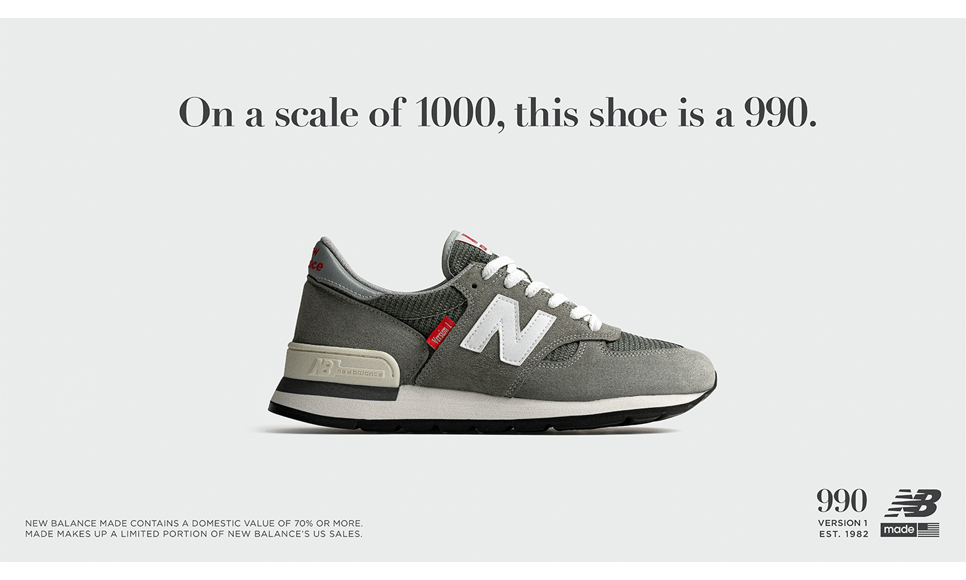 New Balanceタイムレスな人気を誇る「990」過去のバージョンが復活