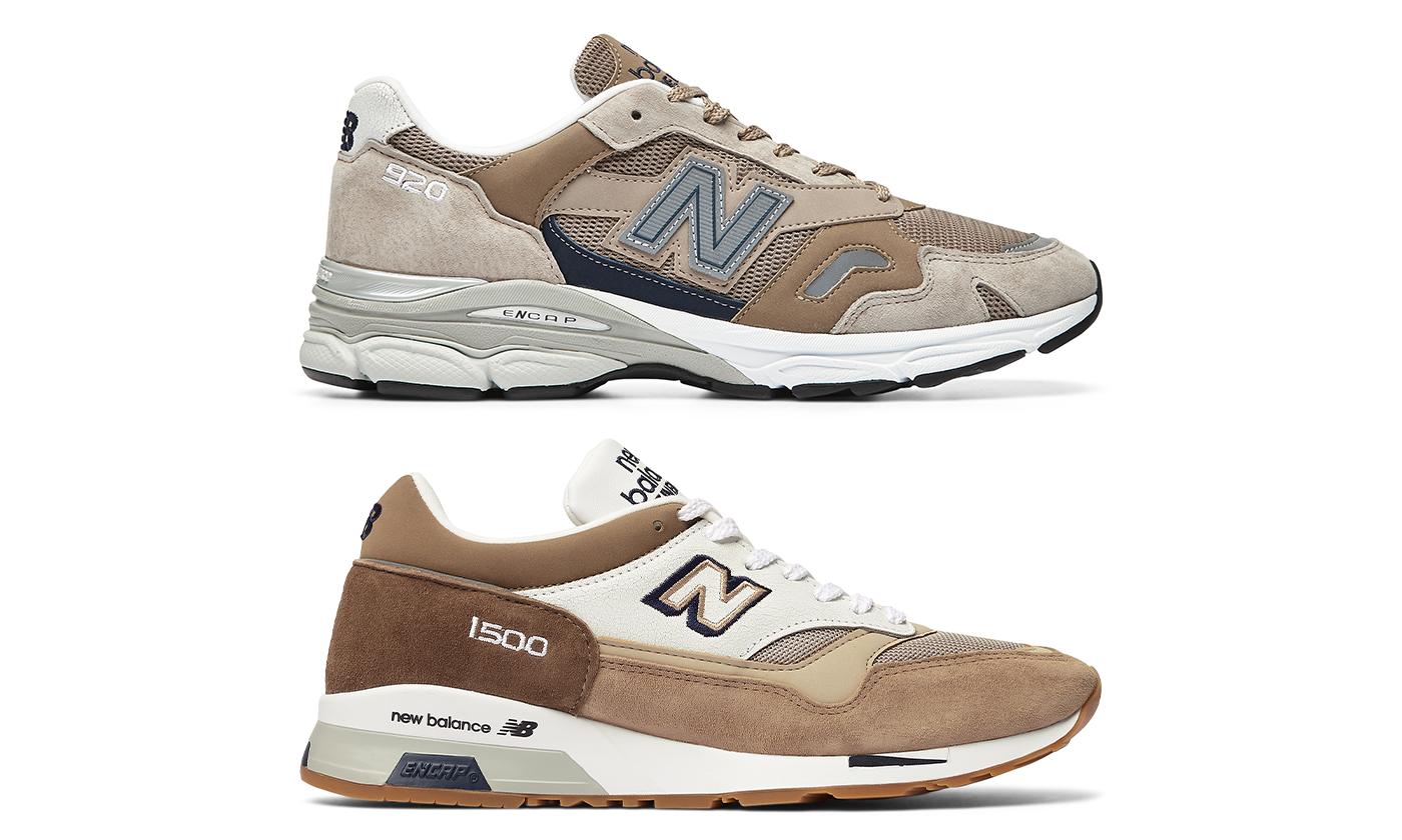 ニューバランス Made in U.K.のニューモデル「920」、Made in U.K.を代表する「1500」に新色登場