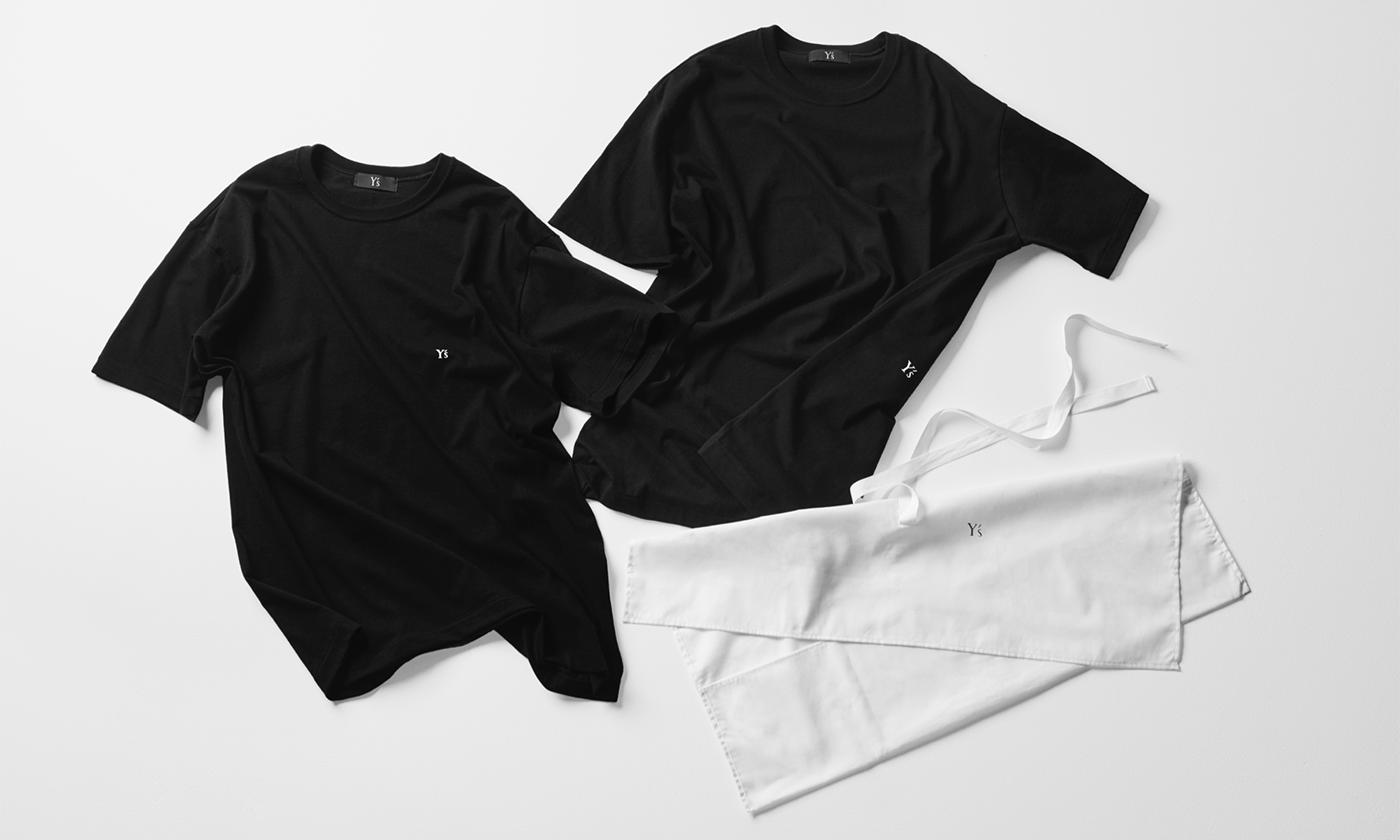 Y's、ビッグシルエットのユニセックス2枚組のTシャツシリーズ発売
