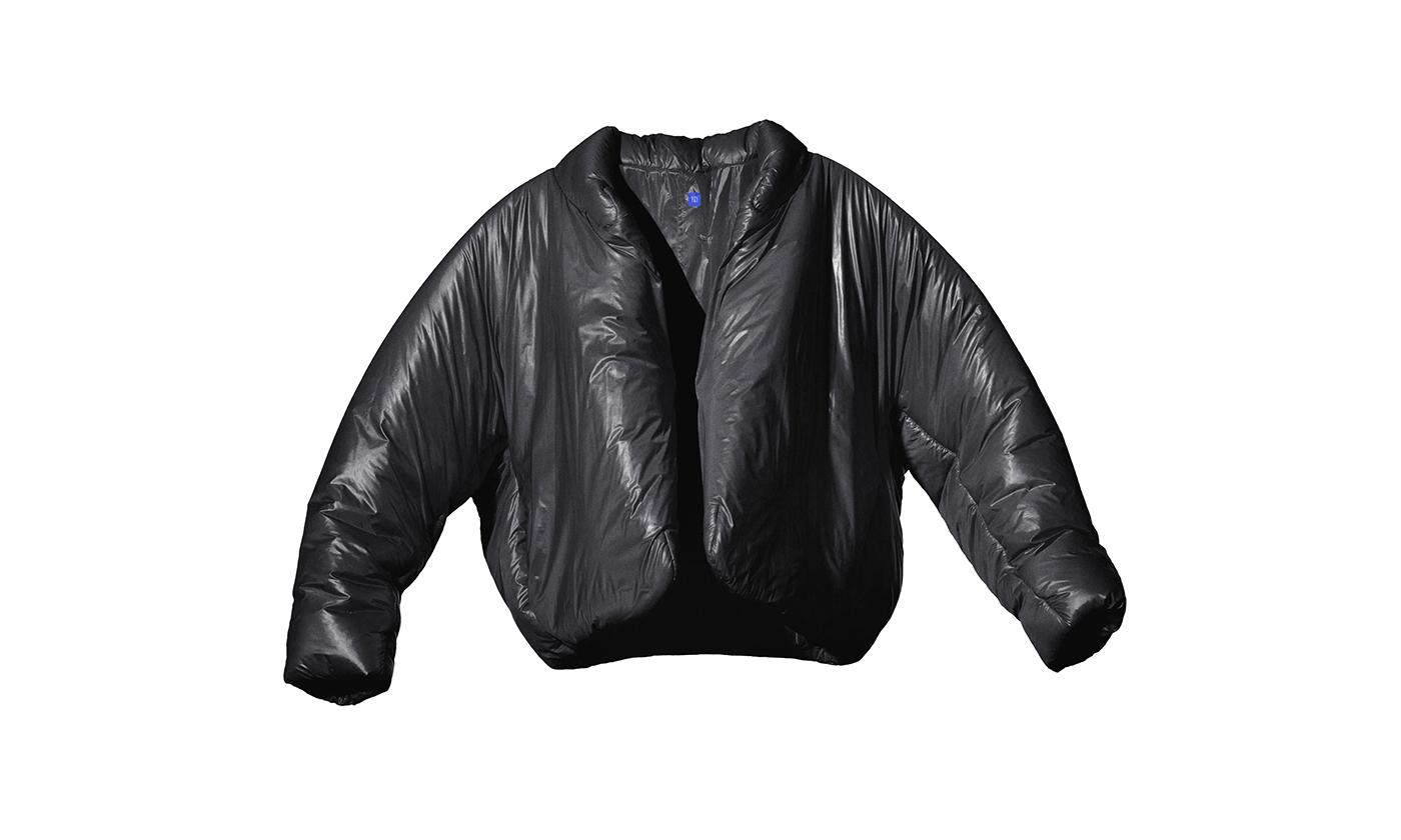 カニエ・ウエストとGapの「YEEZY GAP」ブラックラウンドジャケットが先行予約販売開始