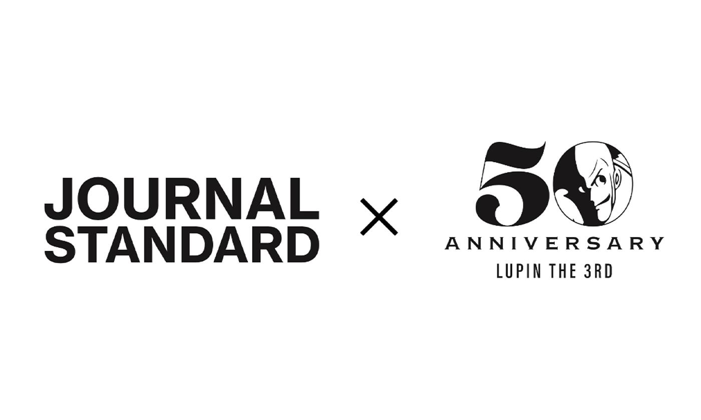 『ルパン三世』アニメ化 50 周年記念企画 ルパン三世×JOURNAL STANDARDスペシャルコラボアイテム発売