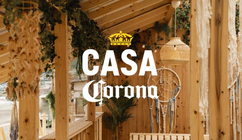 """コロナビールのビーチハウス「Casa Corona」太陽光で汗を流す""""サニーサウナ""""&キンキンに冷えたアイスバスが新たに登場"""