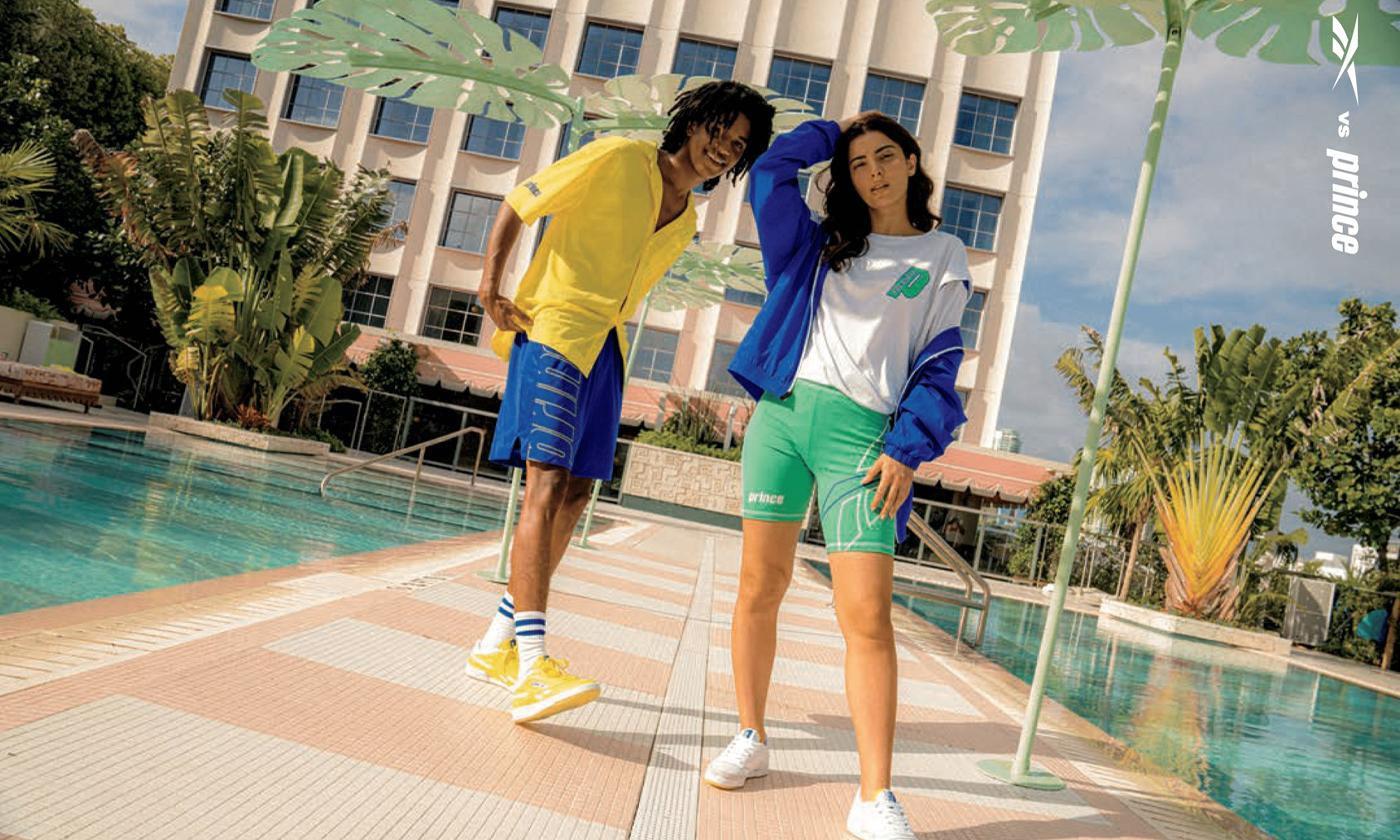 リーボック、テニスブランドの「Prince(プリンス)」とコラボでマイアミにインスパイアされたフットウェアとアパレルコレクション「Reebok vs Prince」を発売