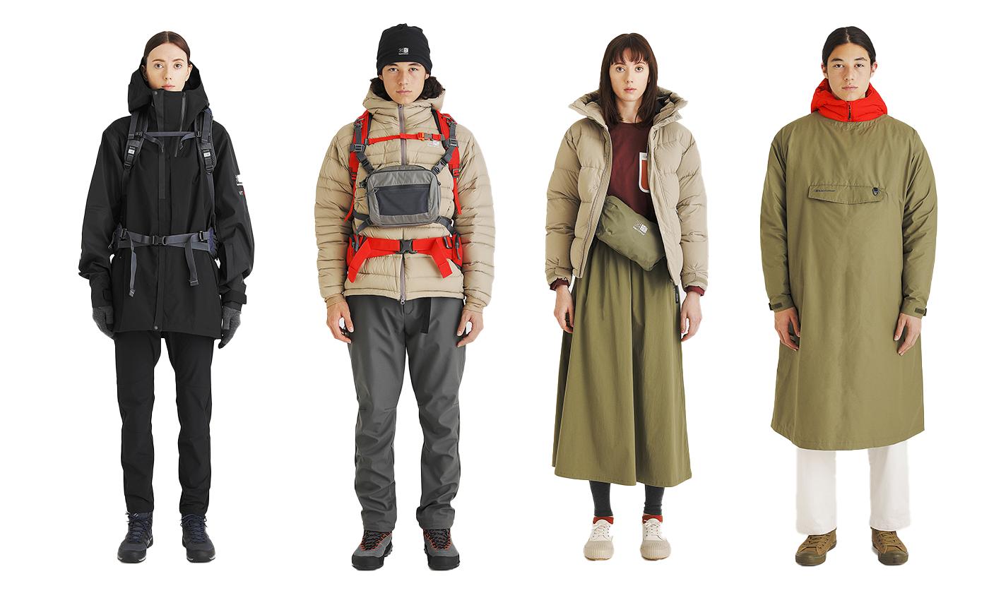 カリマー 「New normal」をテーマとした2021 秋冬コレクション 公開