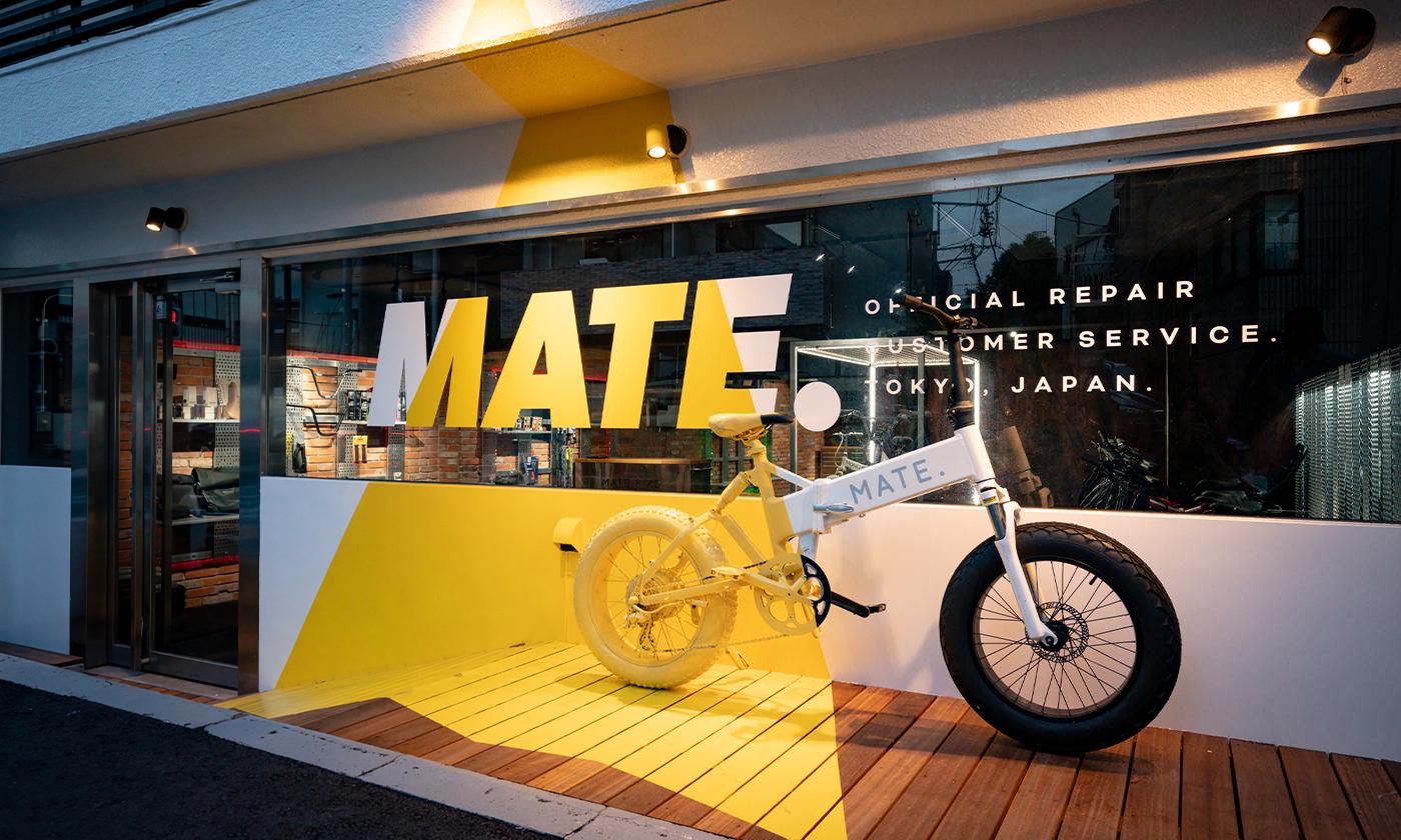 MATE. BIKE、e-BIKE初となるリペア&カスタムサービスを提供する『MATE. BIKE SERVICE LABO Repair & Custom 』を9月3日(金)に東京・恵比寿にオープン!