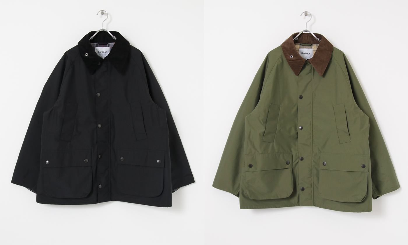 Barbour と workahoLC (ワーカホルク)のコラボアイテム が登場!