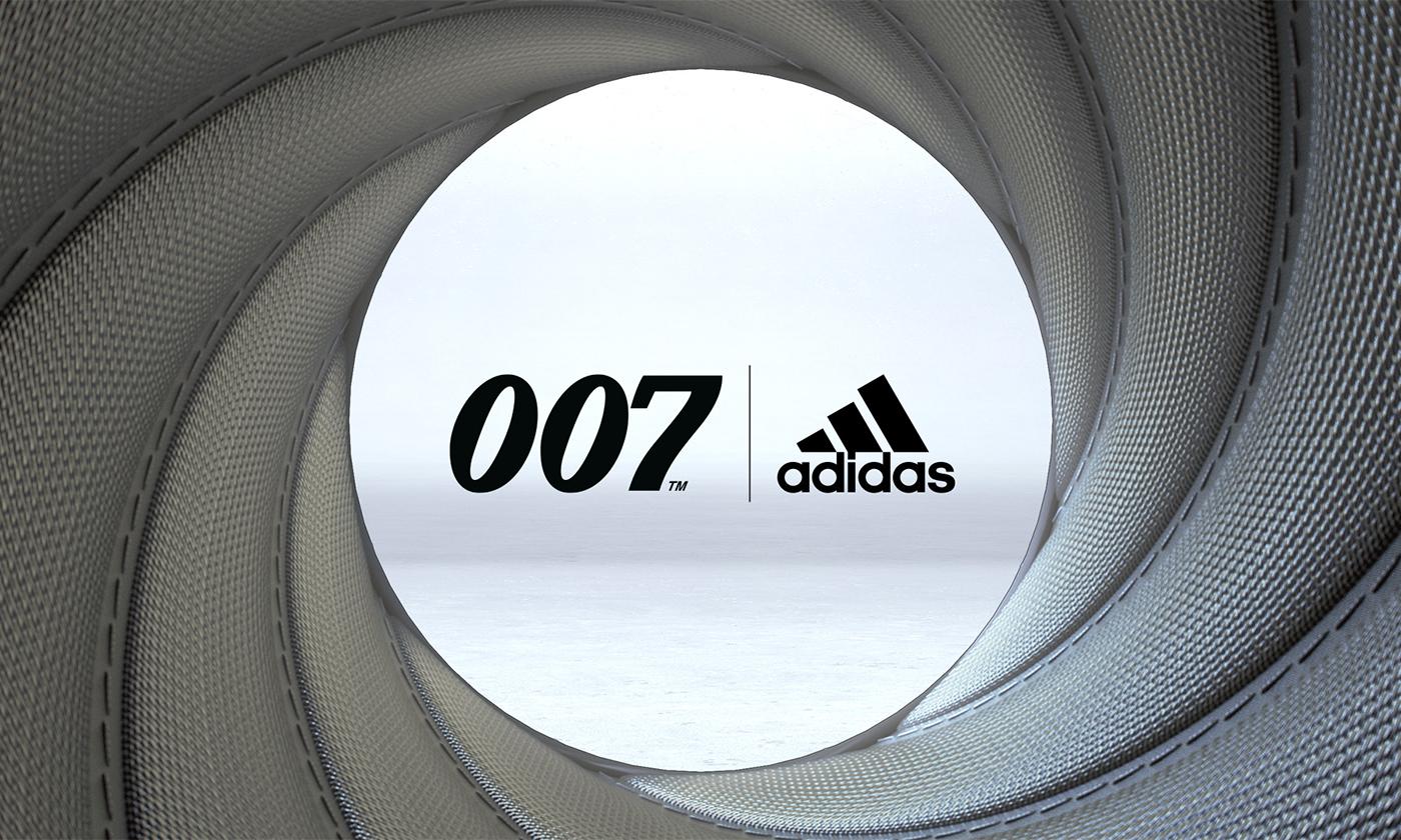 アディダス ランニングシューズがジェームズ・ボンド第25作目『007/ノー・タイム・トゥ・ダイ』にインスピレーションを得た新作を発売