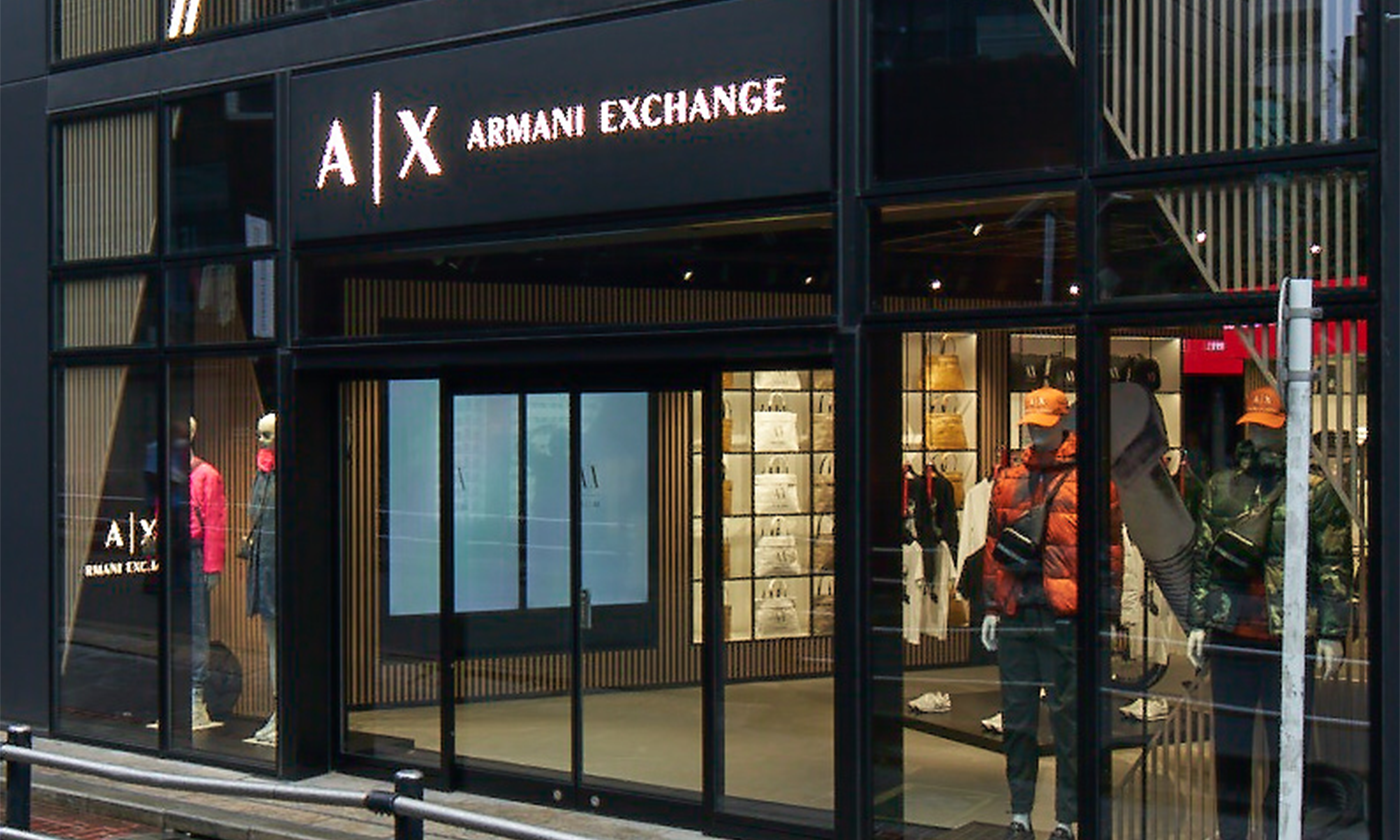 A X アルマーニ エクスチェンジ、世界初となるコンセプトストア「A X HARAJUKU Cat Street」を原宿・キャットストリートに 10月14日(木)にオープン