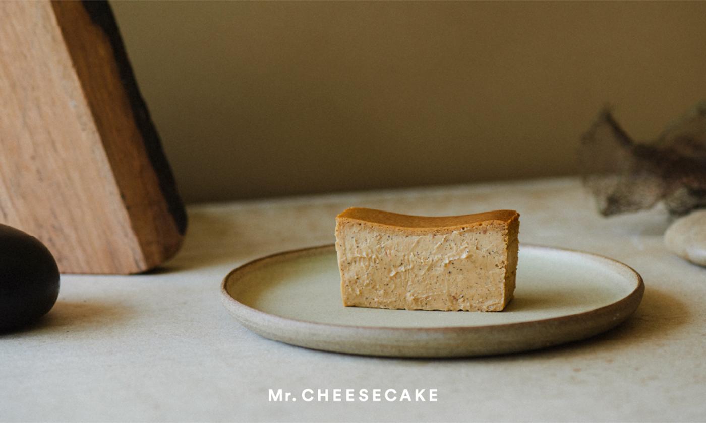 「Mr. CHEESECAKE」から、栗の王様「銀寄」と焙煎紅茶の香りが豊かに広がる秋限定フレーバー「Mr. CHEESECAKE marron」が10月10日より登場