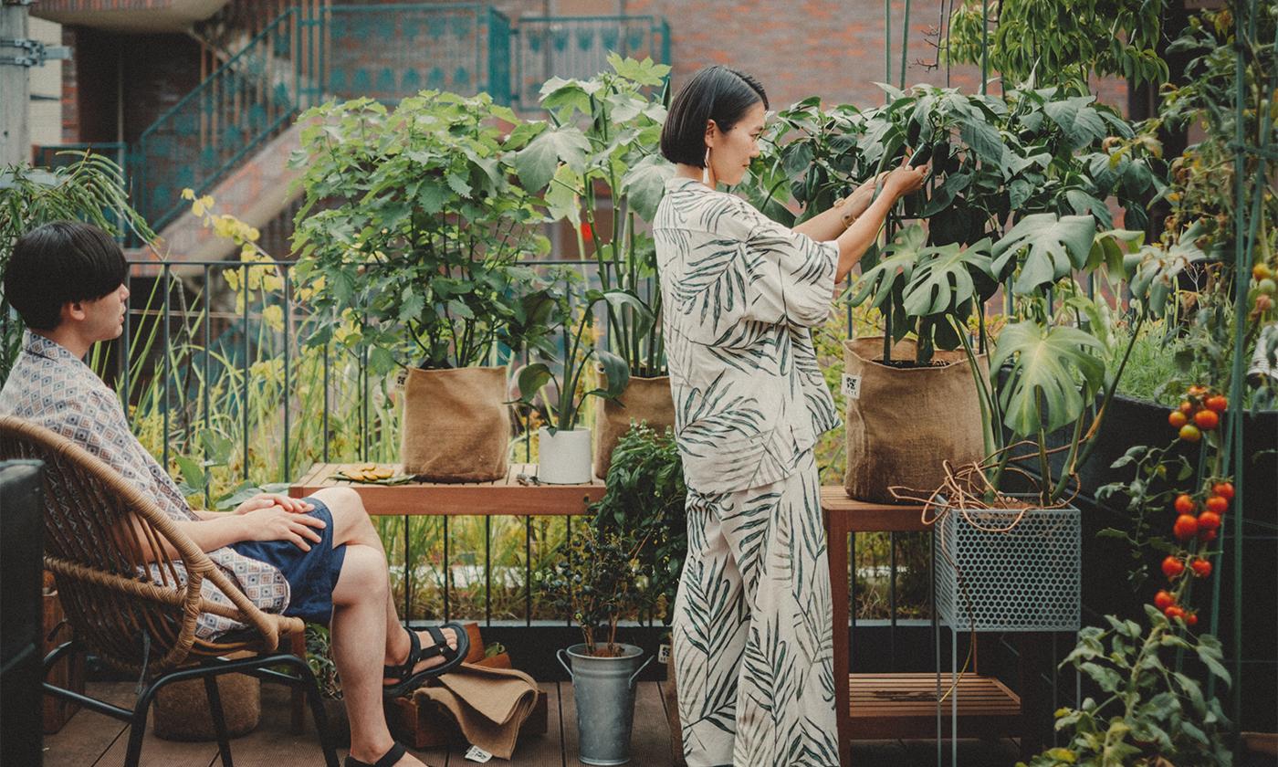自分で育て、収穫して食べる楽しさを。「UETE(ウエテ)」家庭菜園をもっと心地の良い、遊べる菜園へ