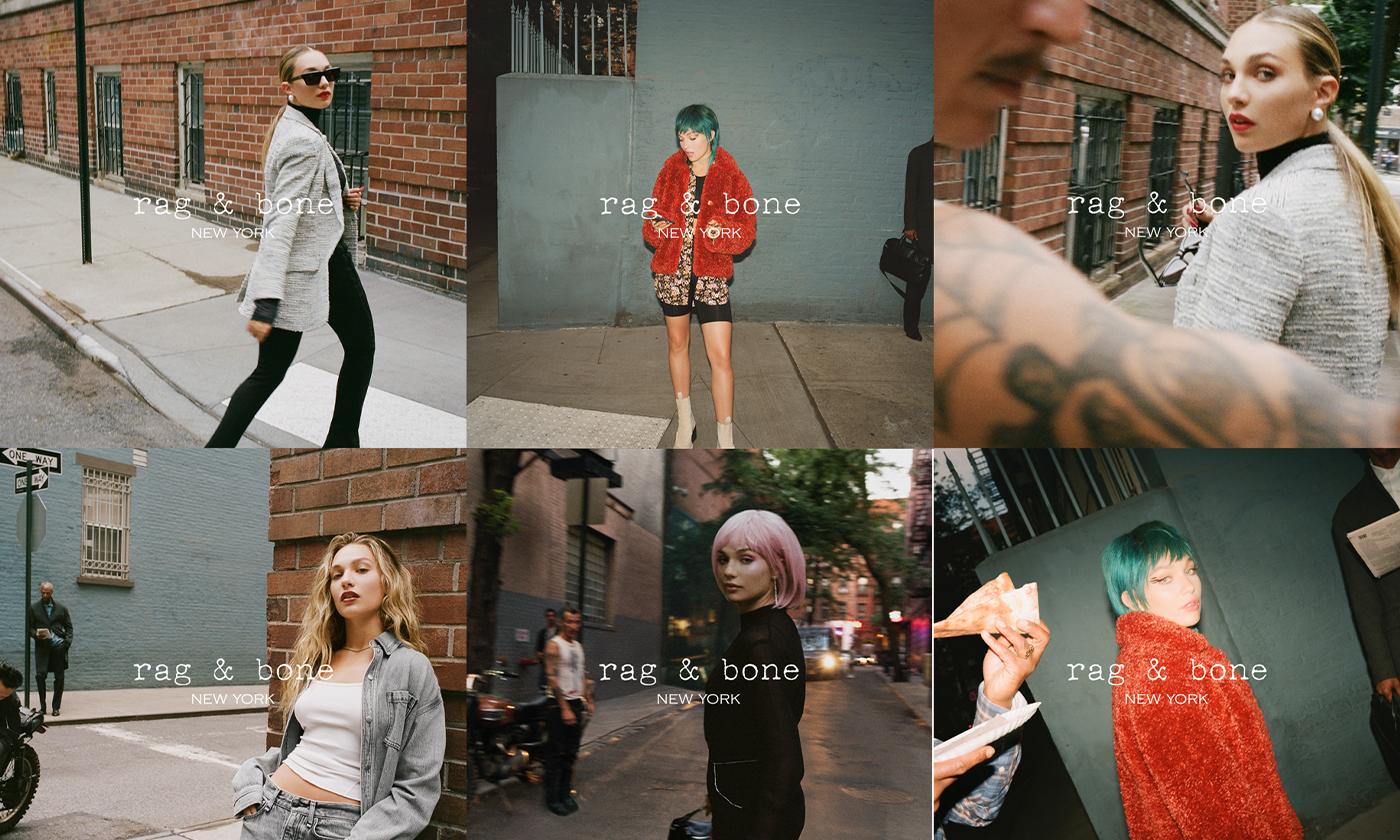 rag & boneがMaddie Ziegler(マディー・ジーグラー)を起用した2021秋冬コレクションのムービー公開